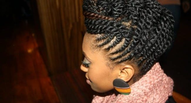 Protective Updo Hair Styles for Work Leisure1 e1426954214228