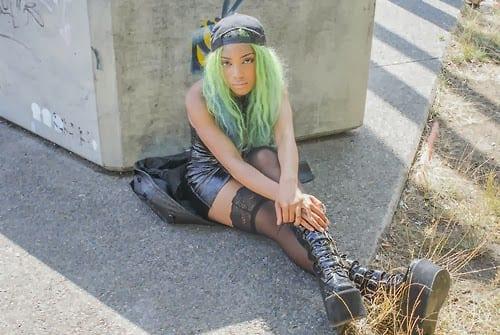 negras com cabelos coloridos - black girl colored hair (23)