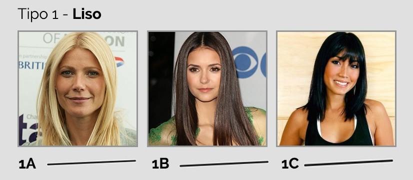 tipos de cabelos - tipo 1
