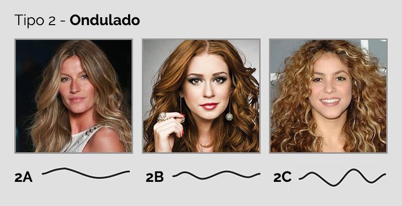 tipos de cabelos - tipo 2
