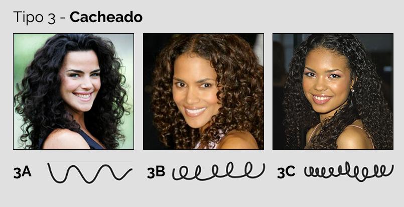 tipos de cabelos - tipo 3