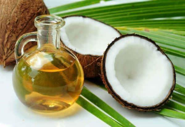 óleo de coco foto