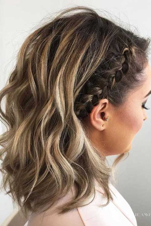 curly natural hair Braided Short Hairstyle penteado tranças cabelo curto crespo 14
