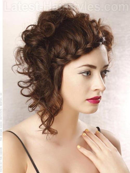 curly natural hair Braided Short Hairstyle penteado tranças cabelo curto crespo 26
