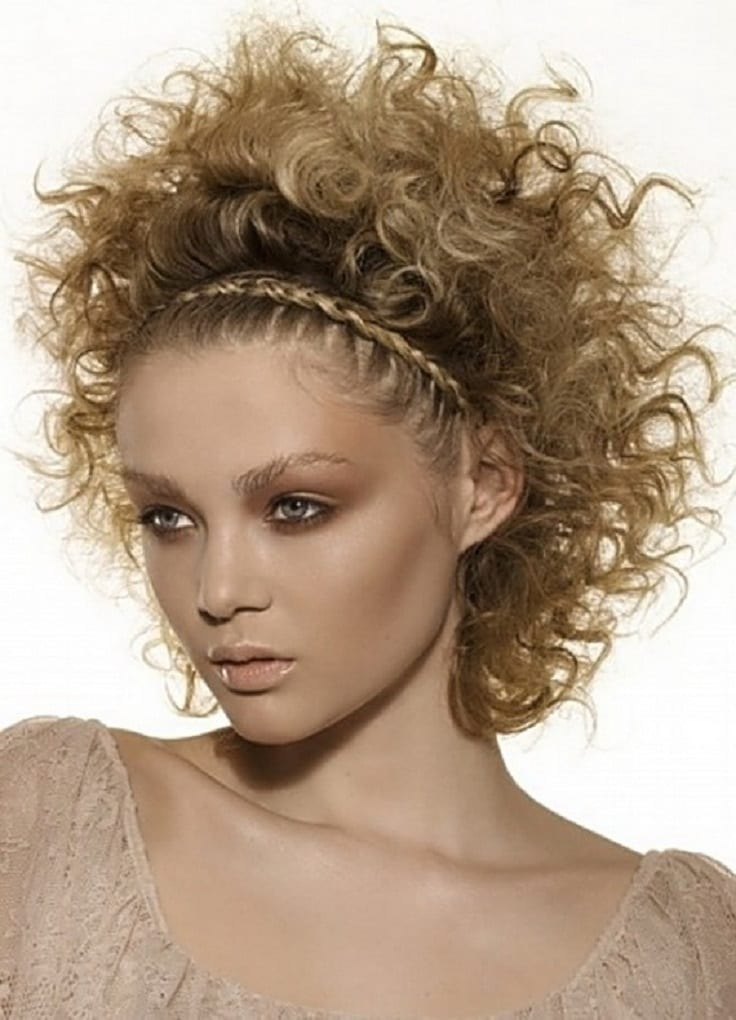 curly natural hair Braided Short Hairstyle penteado tranças cabelo curto crespo 6