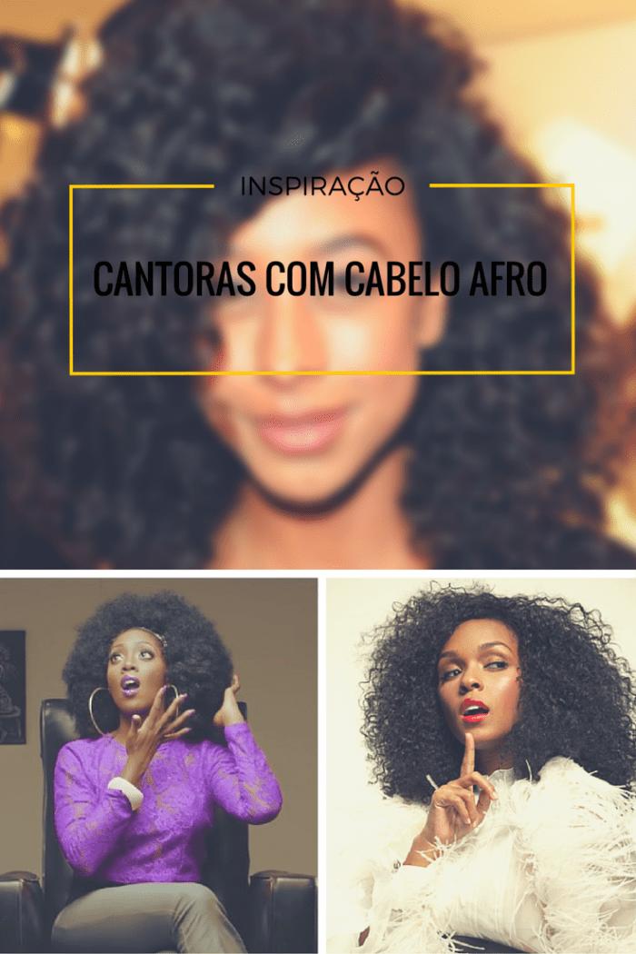 cantoras com cabelo afro