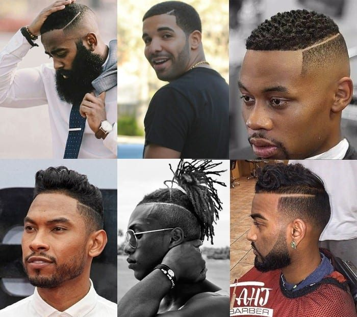 Shaved Side Part - Corte Masculino riscado