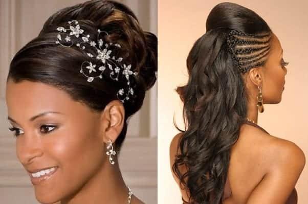 Top 20 Wedding Hairstyles For Medium Hair: Penteados Para Noivas Negras: Inspiração Para Arrasar No