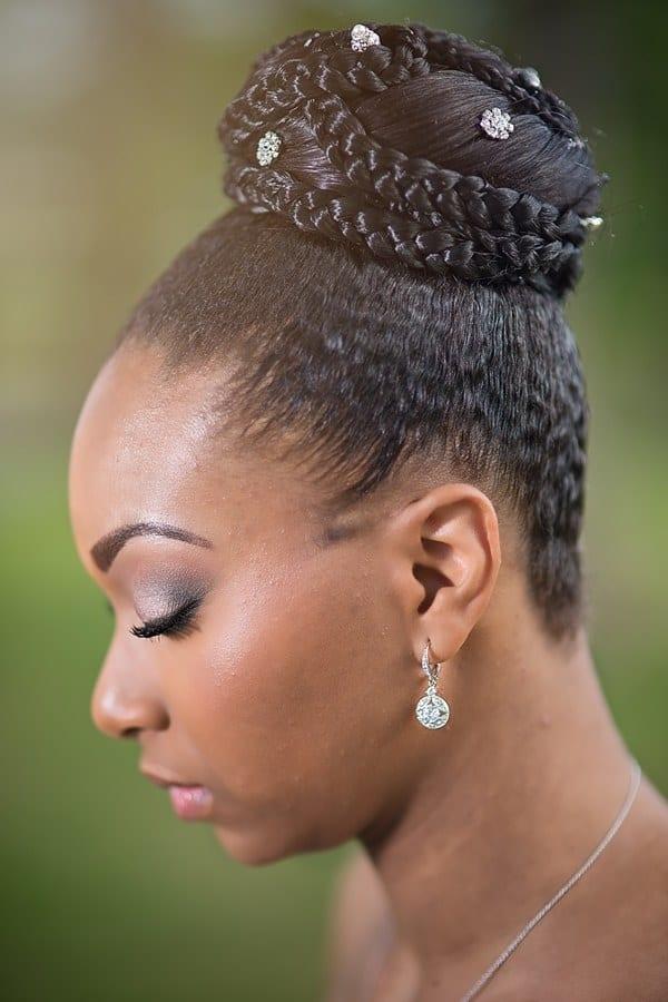 Penteados Para Noivas Negras Inspira 231 227 O Para Arrasar No Casamento Cabelo Afro Blog