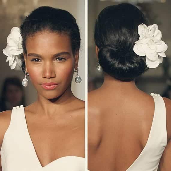 Natural Wedding Hairstyles For Long Hair: Penteados Para Noivas Negras: Inspiração Para Arrasar No