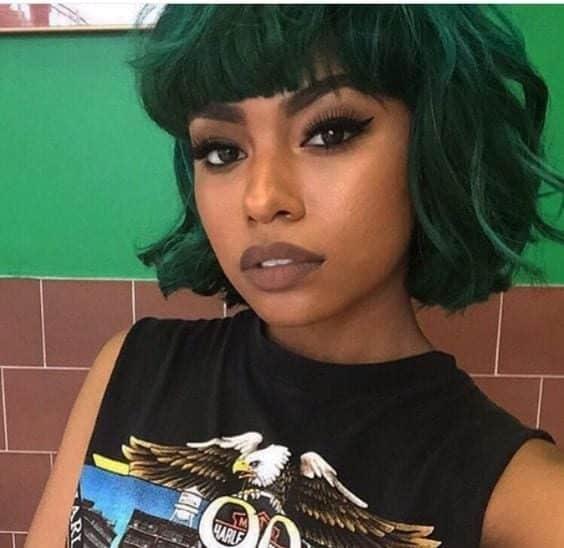 negras com cabelo colorido 1