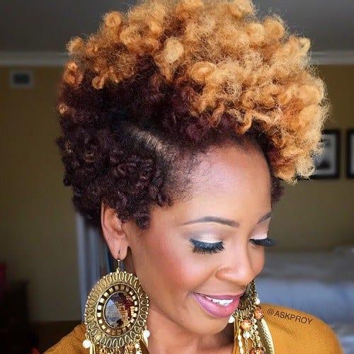 Cabelos Curtos Cortes Femininos Para Cabelos Afros Que Vão