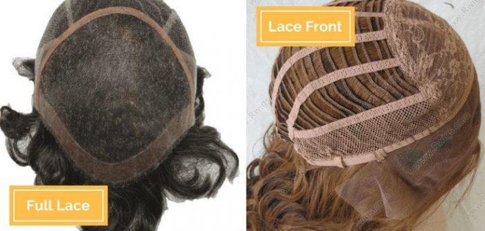 diferença entre full lace e lace front
