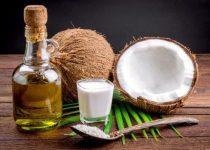óleo de coco para o cabelo