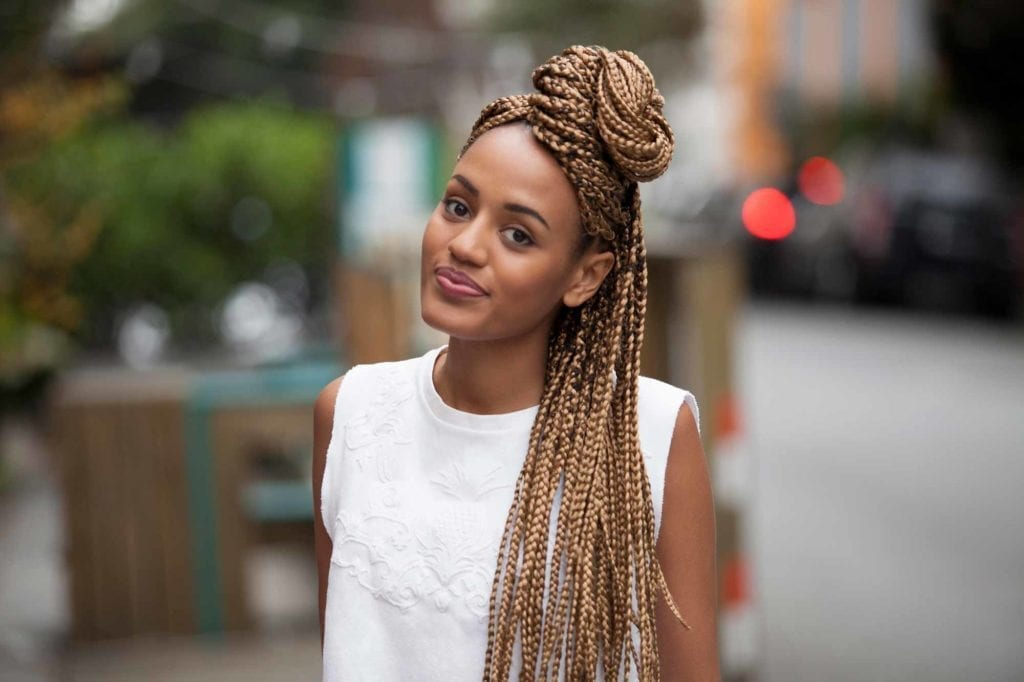 box braids - tranças kanekalon