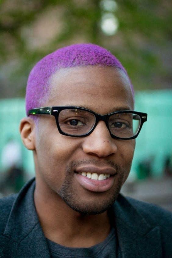 Cortes de cabelo afro masculino Colorido 19 6919557 1719392