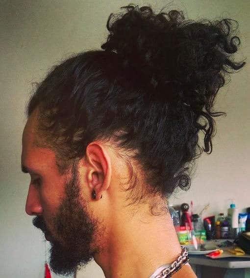 Cortes de cabelo afro masculino corte samurai men bun 5 5346190 3216841