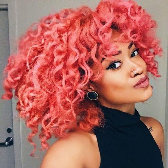 Inspiração para morenas e negras com o cabelo colorido ...
