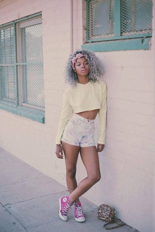 negras com o cabelo colorido black girl colored hair 31 3846618 3167301