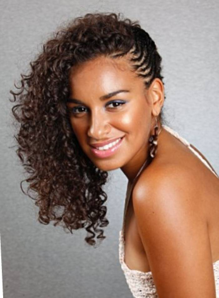 curly natural hair Braided Short Hairstyle penteado tranças cabelo curto crespo 11