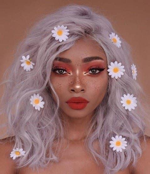 Imagem Tumblr penteados flores noivas 10 8098740 5151059