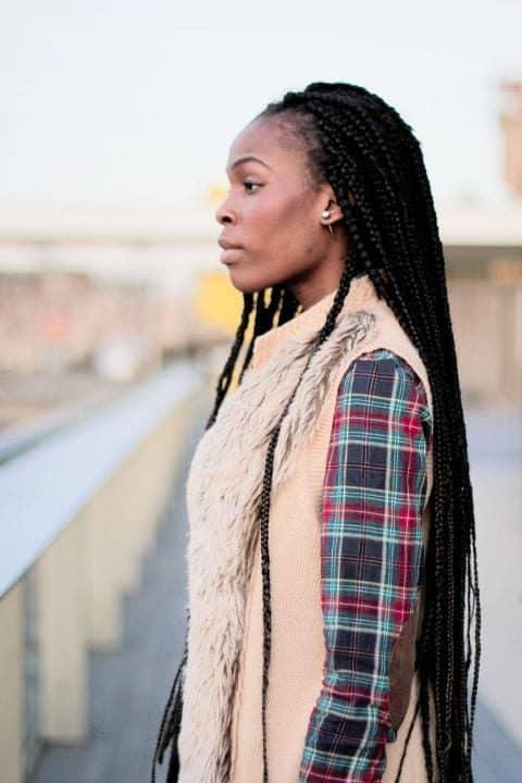 box braids, cabelo afro, mulher negra box braids