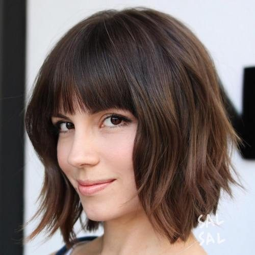 Corte de cabelo médio