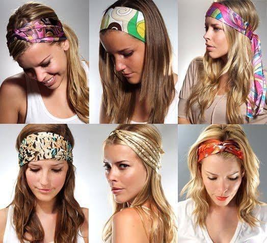 Como amarrar lenço na cabeça
