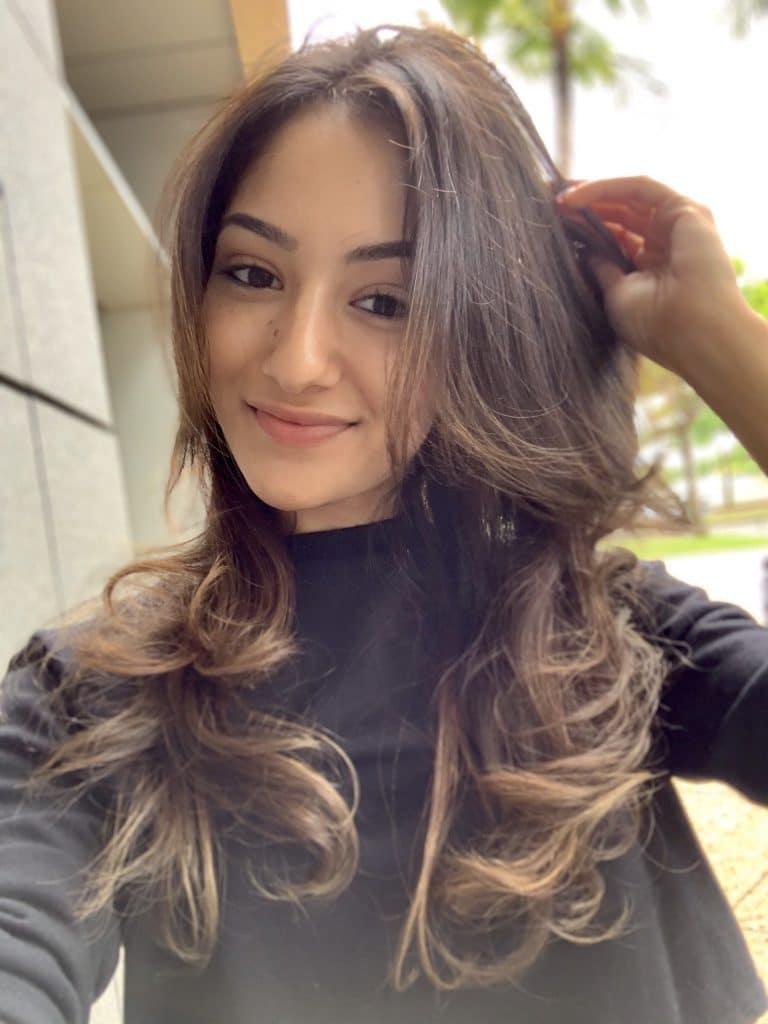 Penteado de cabelo