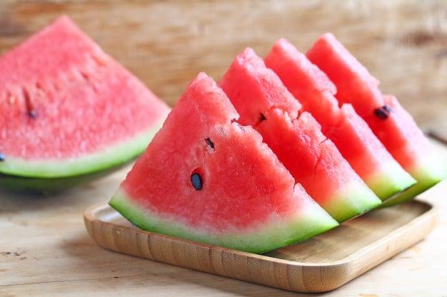redução do friz com melancia